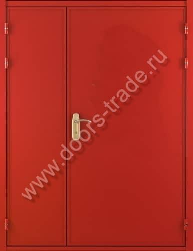 двухпольная стальная дверь