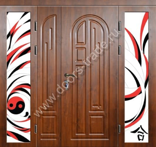 двупольные входные двери каталог