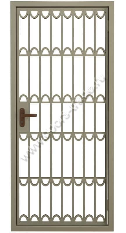 двери решетчатые металлические электросталь