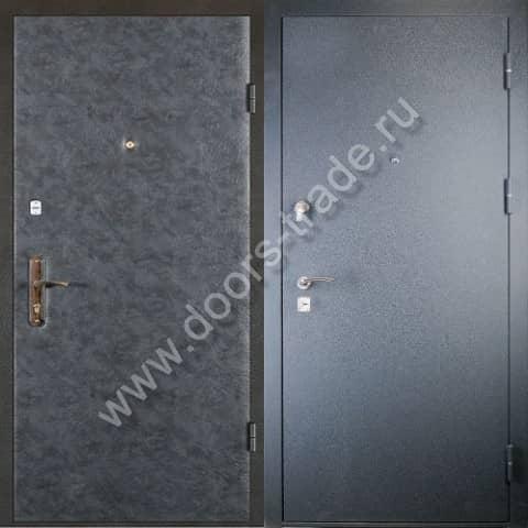 дверь металлическая эконом класса входная купить