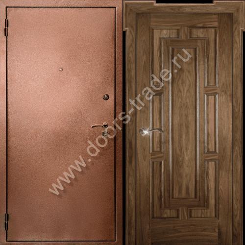 поставить дверь металлическую с шумоизоляцией